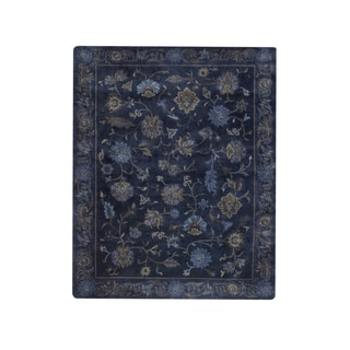 Chapel Hill Hand Knotted Rug Blue Ocean ( 7' x 9')