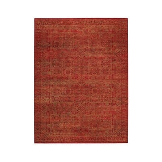"""Artistic Hand Knotted Rug Red ( 5' 6"""" x 8' 6"""")"""