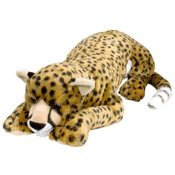 Wild Republic Cuddlekins Fabric 30-inch Cheetah Plush Toy