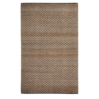 Indy Flat Woven Rugs Ebony ( 5' x 8')