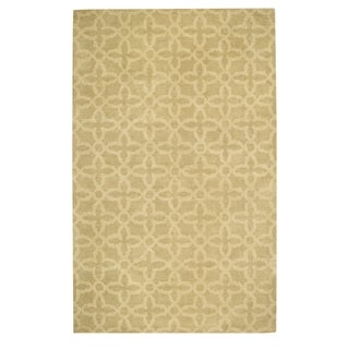 Fence Hand Tufted Rugs Cream ( 5' x 8')