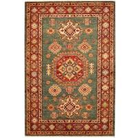Handmade Herat Oriental Afghan Kazak Wool Rug  - 3'5 x 5' (Afghanistan)