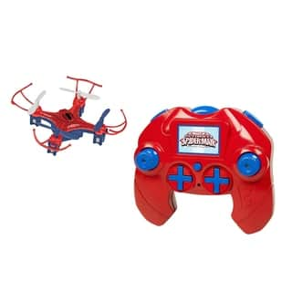 Marvel Avengers Spider Man Micro Drone 4.5CH 2.4GHz RC Quadcopter|https://ak1.ostkcdn.com/images/products/13356598/P20051395.jpg?impolicy=medium