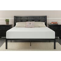 Priage Faux Leather Queen-size Platform Bed