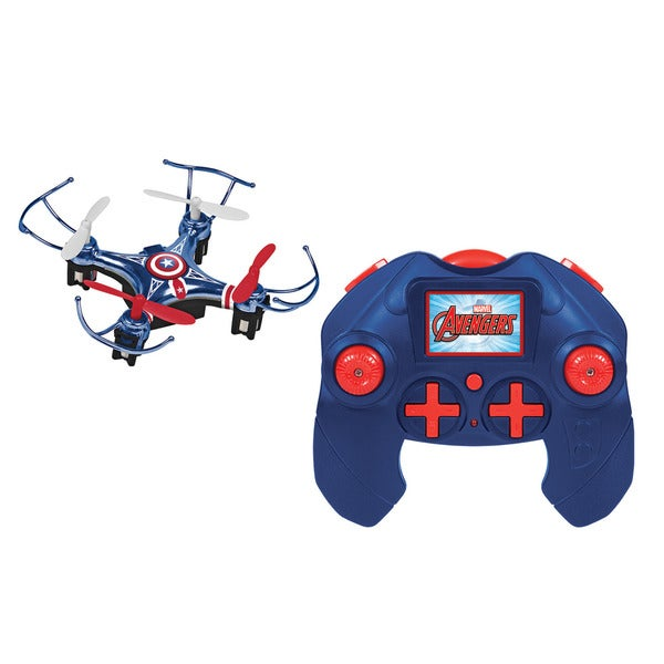 Marvel Avengers Captain America 4.5-channel 2.4GHz RC Quadcopter Micro Drone