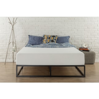 Priage 10-inch Steel Box Bed Frame (King)