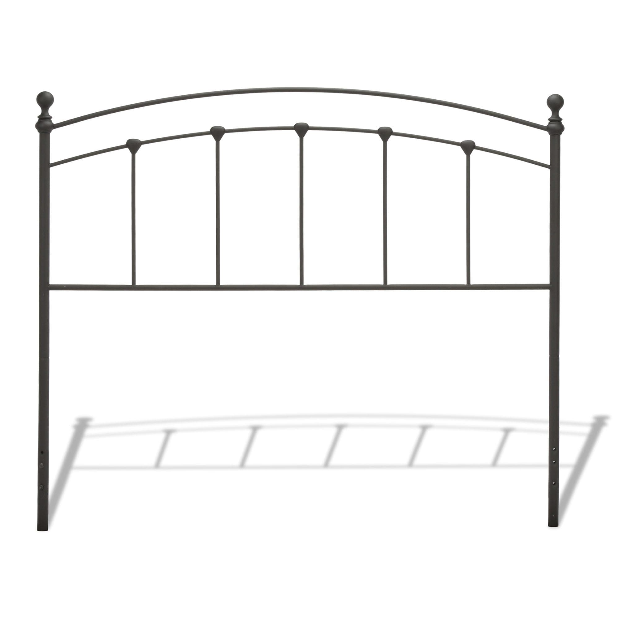 Fashion Bed Group Sanford Metal Headboard with Castings a...