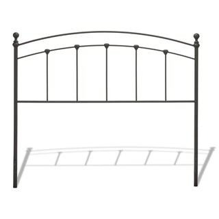 Fashion Bed Group Sanford Metal Headboard in Matte Black
