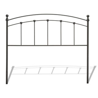 Maison Rouge Verlaine Metal Headboard in Matte Black