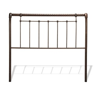Legion Metal Headboard with Sleigh Design and Twisted Rope Top Rail