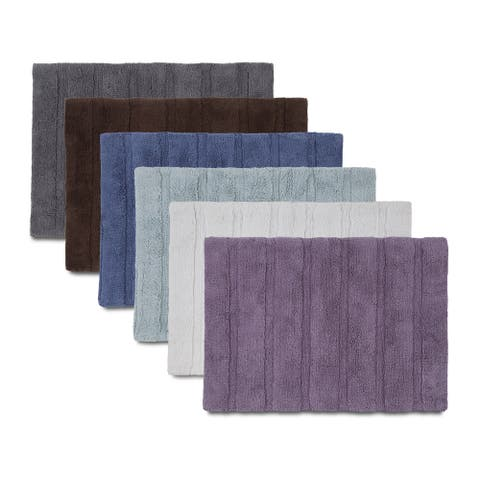 Copper Grove Nimes Bath Rug with Non-skid Backing (6 Color Options)