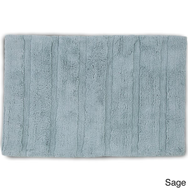 Martex Abundance Bath Rug W NonSkid Backing Available In - Sage bath rug for bathroom decorating ideas
