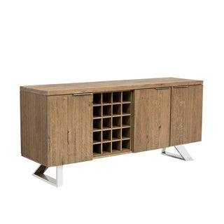 Cruze Distressed Wood Sideboard Buffet