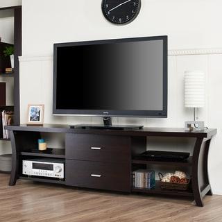 Furniture of America Danbury II Modern 2-drawer 72-inch TV Console