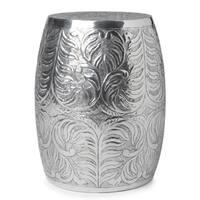 Handmade Shiny Silver Polished Table (India)