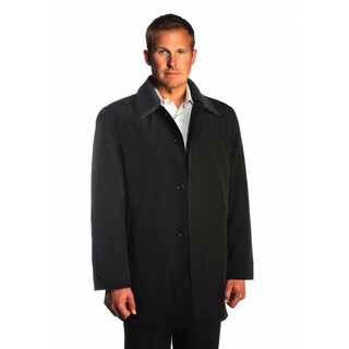 Jean Paul Germain Men's Black Juneau Coat in Extra Large (As Is Item)