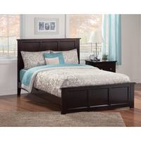 Madison Queen Bed with Matching Foot Board in Espresso