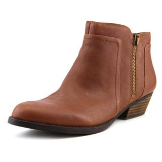 Nine West Women's 'Shyenneo' Brown Leather Low-heel Ankle Boots