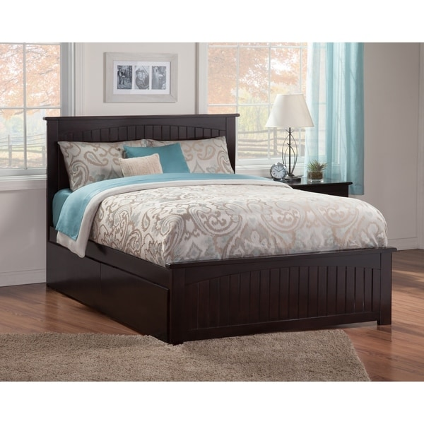 Shop Nantucket Queen Bed With Matching Foot Board With 2