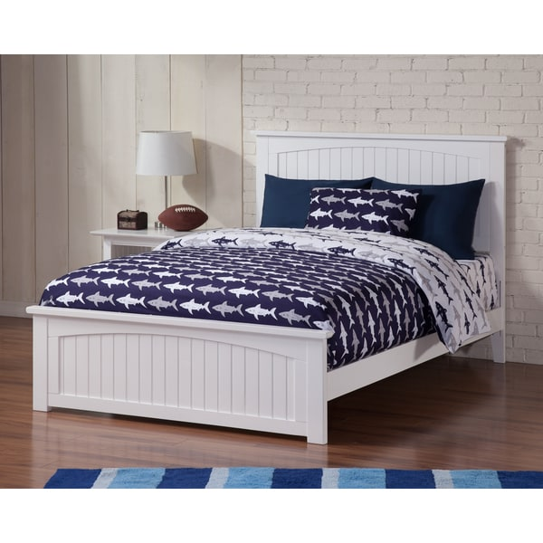Nantucket Full Bed with Matching Foot Board in White