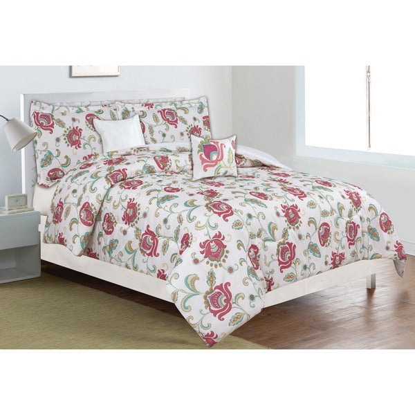 Home Dynamix Classic Trends Collection Roaming Blossom 5-piece Comforter Set