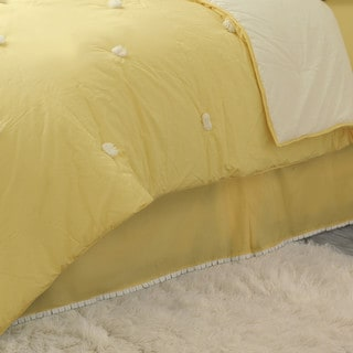 Dena Home Sun Drop Bed Skirt