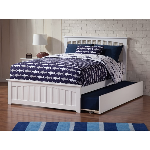 Mission full bed with matching foot board with urban for Urban home beds