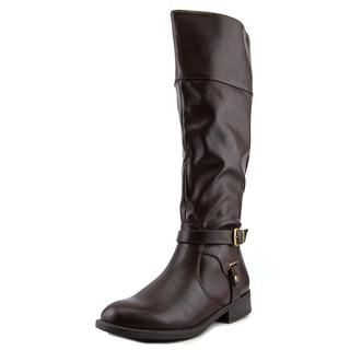 Nine West Women's 'Leowm' Brown Synthetic Boots