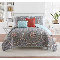 VCNY Yara 5 Piece Quilt Set