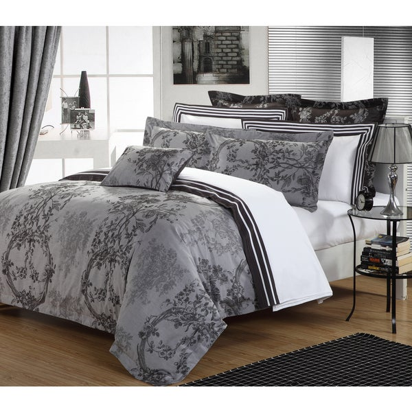 200 Thread Count Cotton Yarn Dyed Duvet Cover Set
