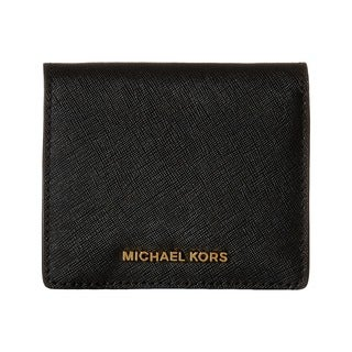 Michael Kors Women's Jet Set Black Travel Carryall Card Case