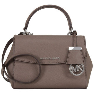 Michael Kors Ava Cinder Leather Crossbody Satchel
