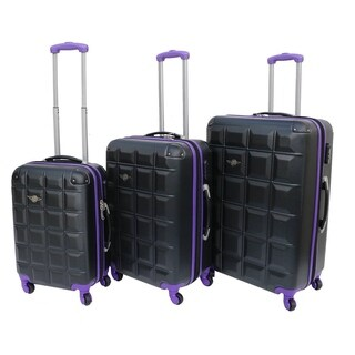 Rivolite 3-piece Lightweight Expandable Hardside Spinner Luggage Set