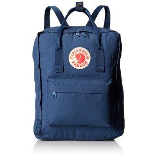 Kanken Royal Blue Polyester and Vinyl Daypack Backpack