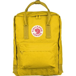 Kanken Warm Yellow Vinyl and Polyester Daypack Backpack