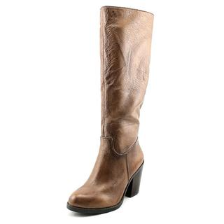 Nine West Women's Brynn Brown Distressed Leather Boots