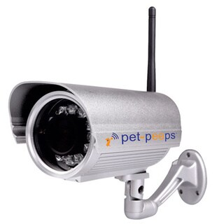 PetCam Wireless Outdoor Waterproof & Night Vision Pet Camera & Monitor