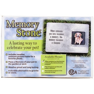 Memory Stone Marker w/ Poem