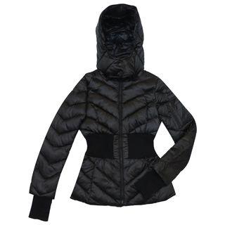 BCBG Max Azria Women's Emilia Black Puffer Coat