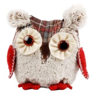 Fabric Decorative 5-inch Christmas Owl