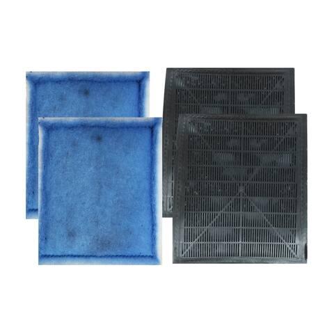 4pk Replacement EZ-Change #3 Aquarium Filter Cartridge, Fits Aqua-Tech