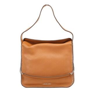 Michael Kors Astor Large Acorn Leather Hobo Handbag