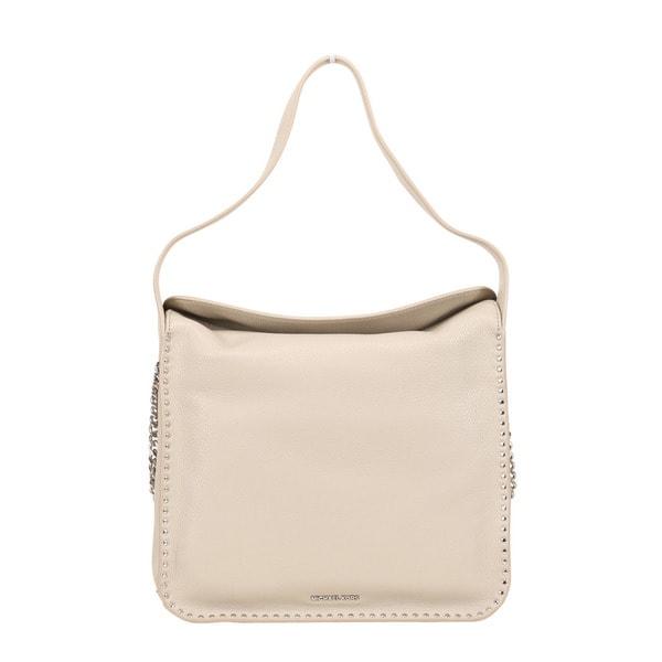 de8fefa6eb4a5 Shop Michael Kors Astor Large Cement Leather Hobo Handbag - Free ...