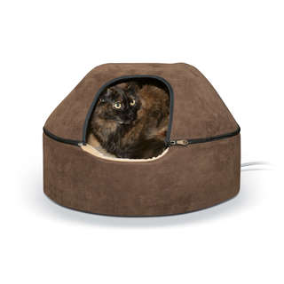 K&H Pet Products Heated Kitty Dome Bed for Cats