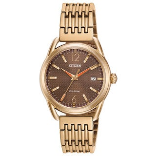 Drive From Citizen Eco-Drive Goldtone Stainless Steel Women's Watch
