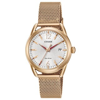 Citizen Women's FE6083-72A Drive Gold-tone Mesh/Stainless Steel Watch