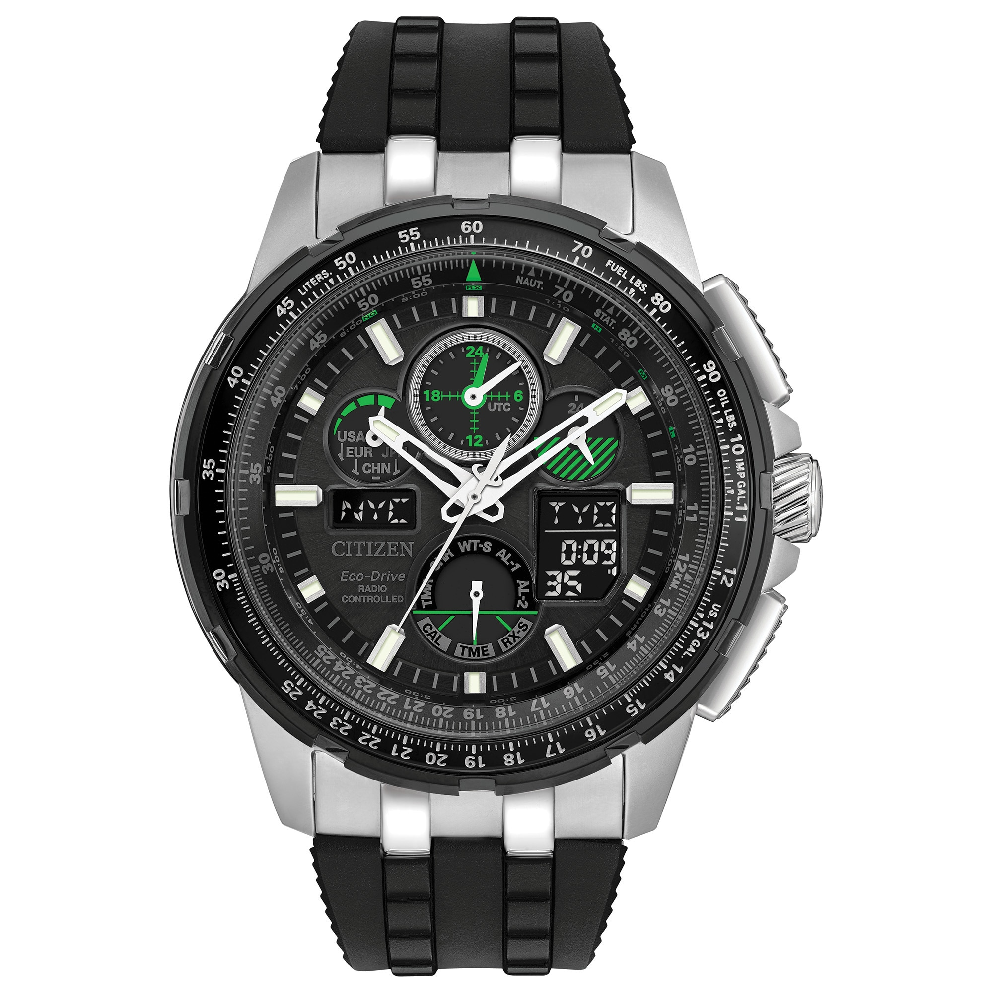 Citizen Men's JY8051-08E Eco-Drive Skyhawk Atomic Timekee...