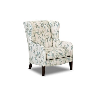 Made to Order Klaussner Polo Blue Cushioned, Upholstered Chair