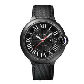 Cartier Ballon Bleu De Cartier Men's Black Dial Watch