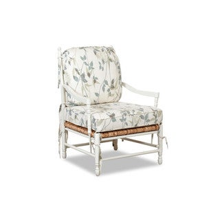 Made to Order Klaussner Verano Cream Upholstered Occasional Chair